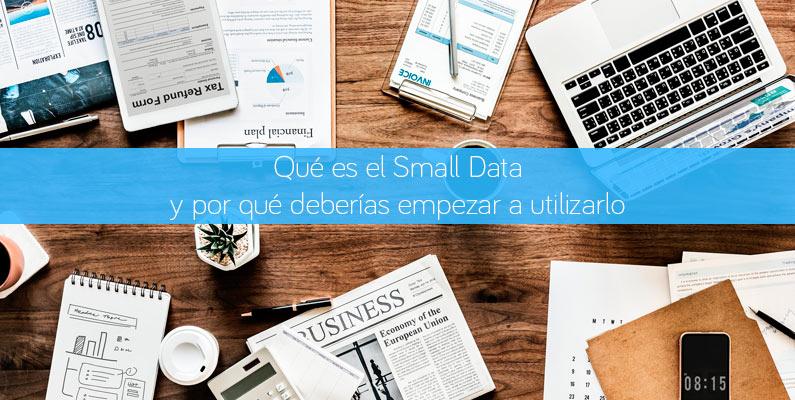 Qué es Small Data